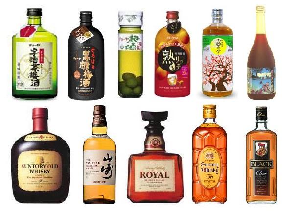 梅酒・ウイスキー