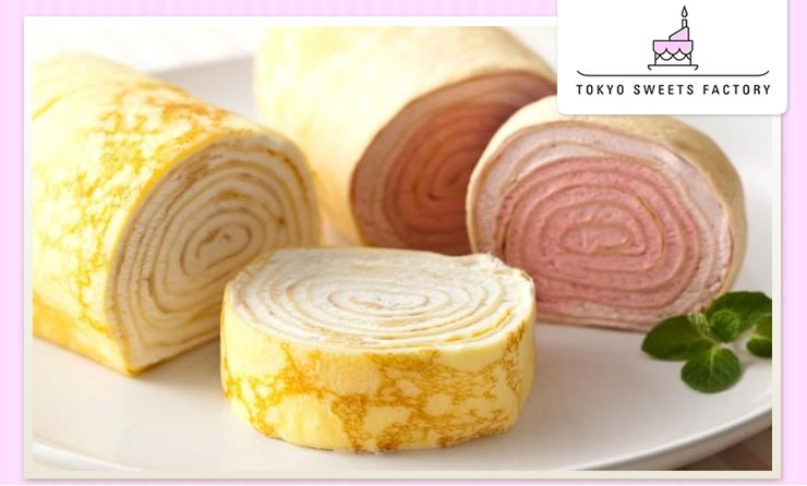TOKYO SWEETS FACTORY ミルクレープロール